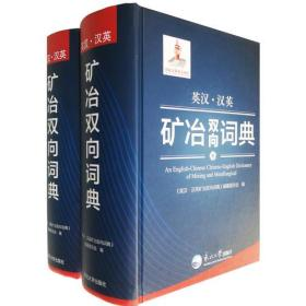 英汉.汉英矿冶双向词典(全两册)