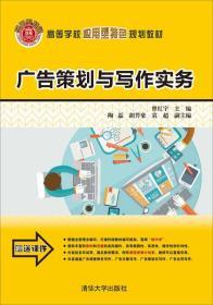 广告策划与写作实务/高等学校应用型特色规划教材