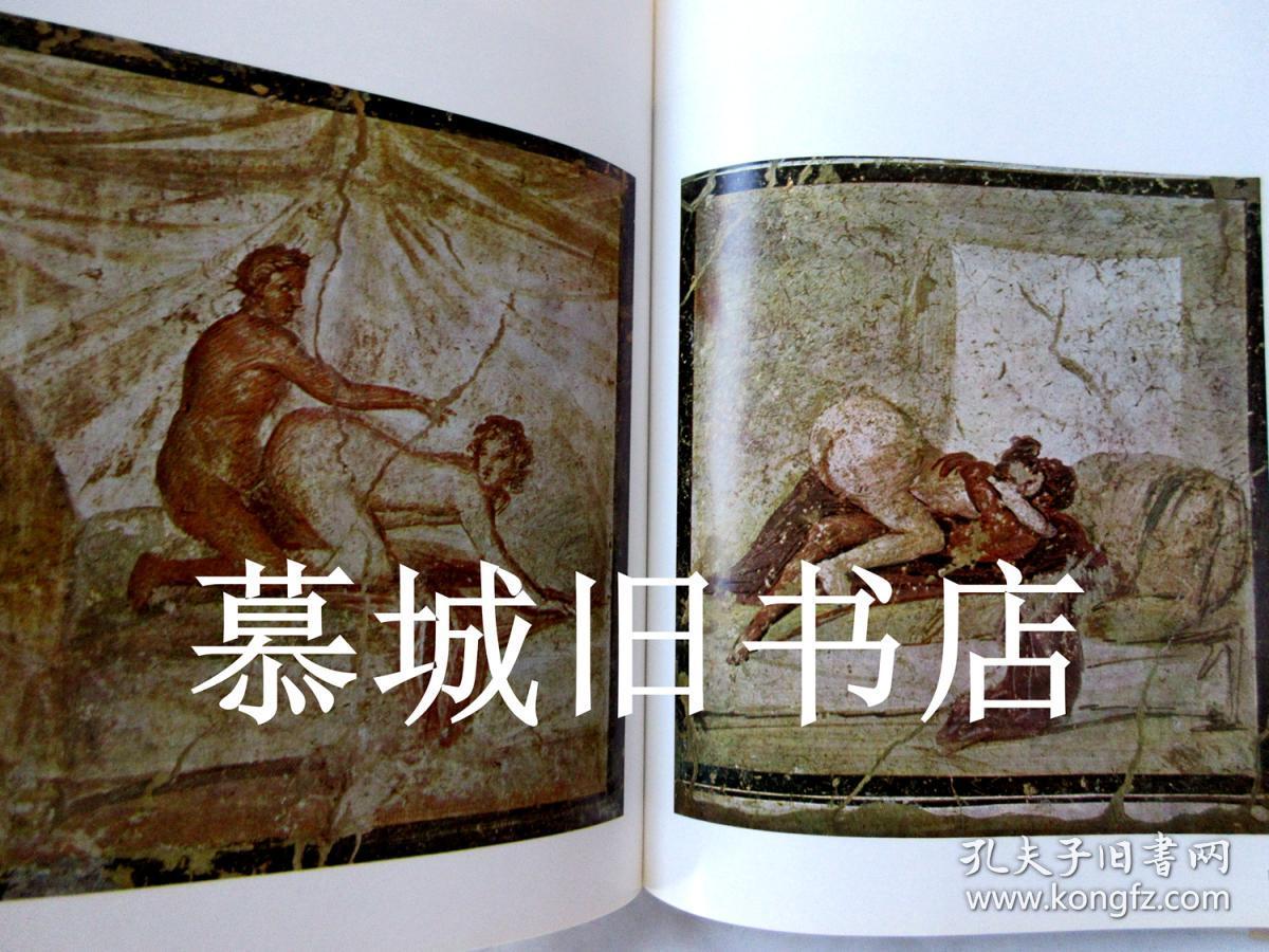 欧美性爱大�9��9i*yi*yolz)�_大开本/布面精装/书封《罗马艺术中的情色性爱》含大量彩色/黑白插图