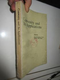 英文版:  Convexity and Its Applications    凸性及其应用    (小16开)