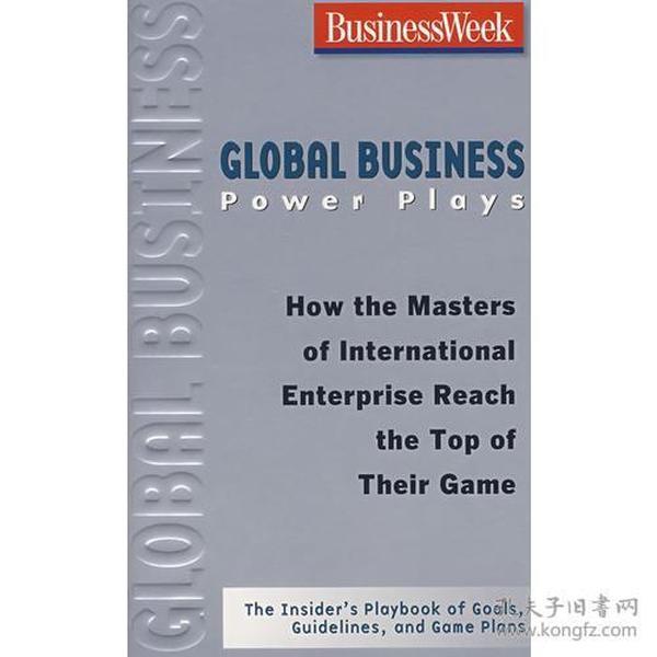 9780071486309全球经济影响力【Global Business Power Plays:How The Mas】(英文原版)