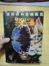 湖南森林昆虫图鉴 (大16开精装,厚达1474页)---书9品如图