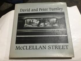 david and peter turnley mcclellan street  (12开精装摄影外文原版)