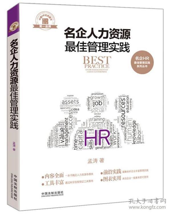 名企人力资源最佳管理实践/名企HR最佳管理实践系列丛书
