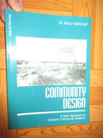Community Design: A Team Approach to Dynam...      (大16开,详见图)