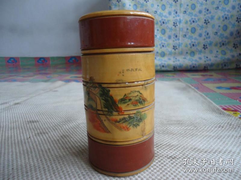 木茶叶筒,茶叶盒.