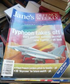 Jane's DEFENCE WEEKLY  简氏防务周刊 2003  年  41本合售