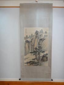 黄君璧(买家自鉴)《浅绛山水》