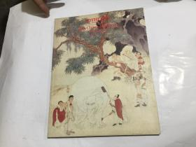 纽约苏富比 1986年6月3日 中国书画拍卖图录 齐白石6件张大千3件文征明6件吴昌硕3件董其昌3件丁衍庸5件