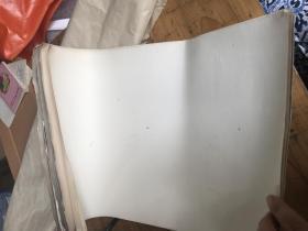 老的纸12张,厚卡纸,规格:38.5*27