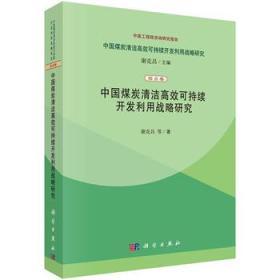 中国煤炭清洁高效可持续开发利用战略研究(综合卷):中国煤炭清洁高效可持续开发利用战略研究