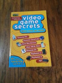 VIDEO GAME SECRETS(HIDDEN CODES AND CHEATS)
