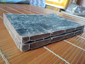 低价出售清代早期和刻大本厚册《诗经》一套2册全。字大墨浓,印制精良!!!!!!!!!!