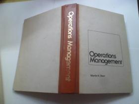 Operations Management{生产作业管理}