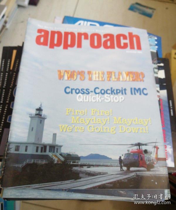 APPROACH(THE NAVAL SAFETY CENTERS AVIATION MAGAZINE 英文原版,方法,海军安全中心航空杂志 2003.1.2.3.4.6.7.8.9.11 九本合售