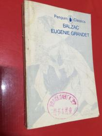 欧也妮葛朗台Balzac, Eugenie Grandet英文简写本(Balzac著 Penguin Classics国内英文影印本 见注明)