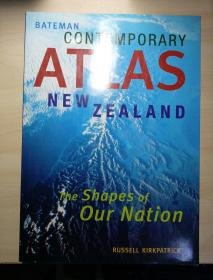 BATEMAN CONTEMPORARY ATLAS NEW ZEALAND