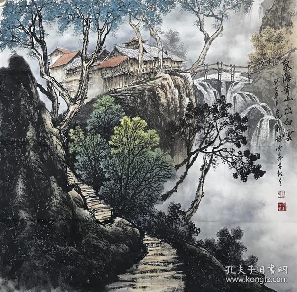 【来自画家本人,保证真迹】亚男/国家一级美术师,中国文艺家联合会副
