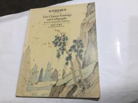 纽约苏富比 1987年12月8日 吴普心 思学斋 中国明清书画