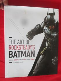 The Art of Rocksteady Studio's Batman: Arkh       (大16开,硬精装)   【详见图】