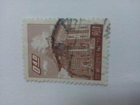 台湾早期信销票 肆角  同一来源中有一枚邮戳中好象显示是1963年