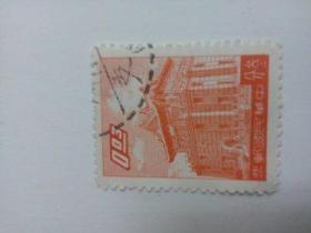 台湾早期信销票 叁分  同一来源中有一枚邮戳中好象显示是1963年