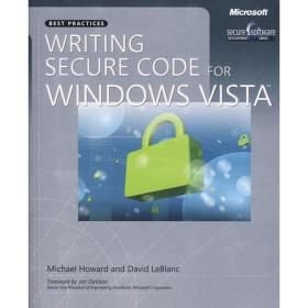 9780735623934Writing Secure Code for Windows Vista