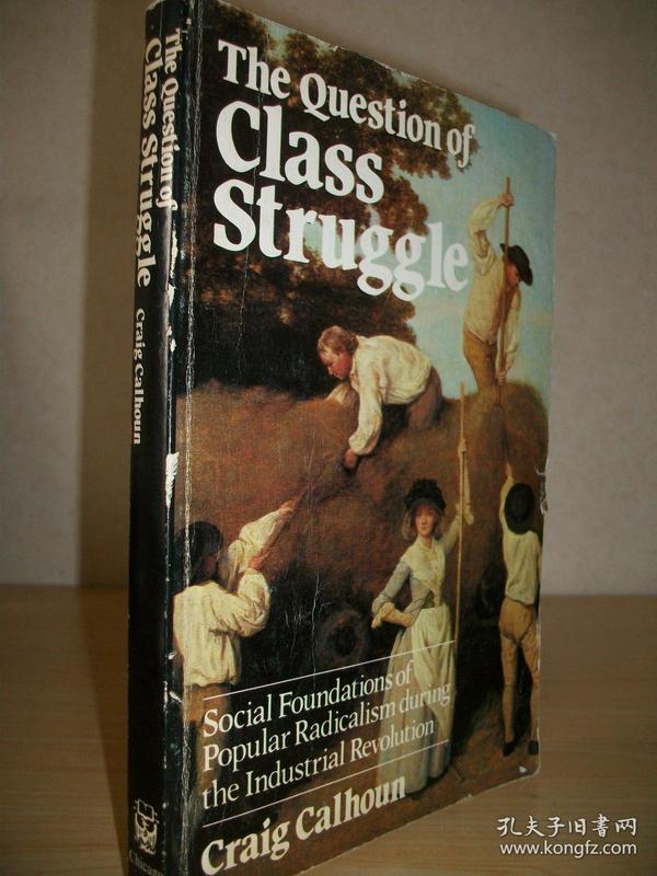 【英文原版】克雷格·卡尔霍恩《阶级斗争:工业革命时期激进主义的社会基础》The Question of Class Struggle:Social Foundations of Popular Radicalism during the Industrial Revolution