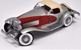 1:18安徒Ertl杜森堡Duesenberg老爷车合金汽车模型收藏(红色版)