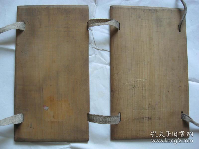 老红木书板 2片一副,残一片!