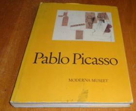 2手瑞典文 Pablo Picasso 毕加索 xgc24