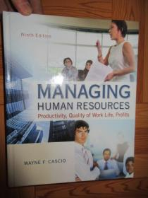 Managing Human Resources 9th Edition ...     (16开,硬精装)    详见图