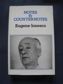 Notes and Counter Notes 平装本 欧仁·尤内斯库评论文集 英语译本 1964年出版