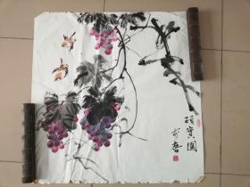 [3402李唐花鸟画一幅