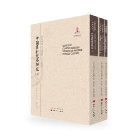 中国农村经济研究(上.中.下)近代海外汉学名著丛刊(历史文化与社会经济)