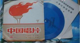 614文革小薄膜唱片:歌曲再次征服珠穆朗玛峰等2首BM-20031带词