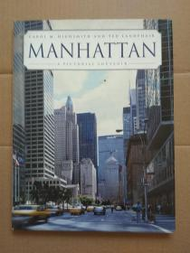 英文原版:MANHATTAN A PICTORIAL SOUVENIR