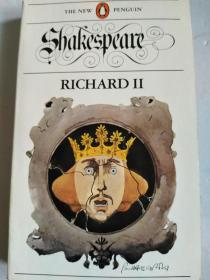 英文原版:KING RICHARD II (THE NEW PENGUIN ,SHAKESPEARE)