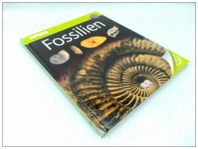 DK出版的化石百科德语版 Fossilien