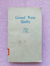 Ground Water Quality  地下水水质
