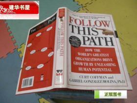 英文原版《由此,踏上成功之路》 Follow this Path 精装本 货号W4