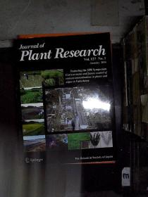 JOURNNAL OF PLANT RESEARCH 2014 1