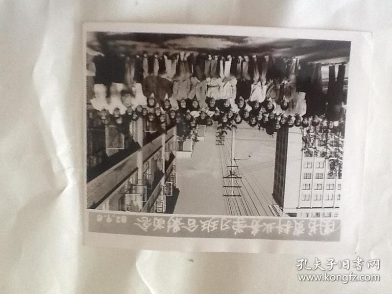 图书资料业务学习班合影留念1982.9.8(包邮