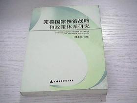 完善国家扶贫战略和政策体系研究