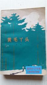黄毛丫头(南方山区林业队上山造林的小说) 乡村著 人民文学出版社 32开