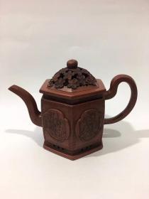 陈寿福制  宜兴紫砂壶 品如图珍藏版