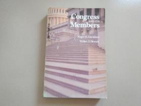 Congress AND ITS Members 国会及其成员(16开,详细如图)馆藏书
