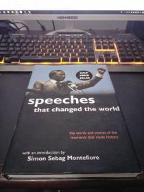 Speeches That Changed the World (演讲改变世界)英文原版 精装本