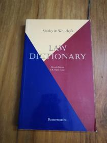 Mozley and Whiteles Law Dictionary 法律词典