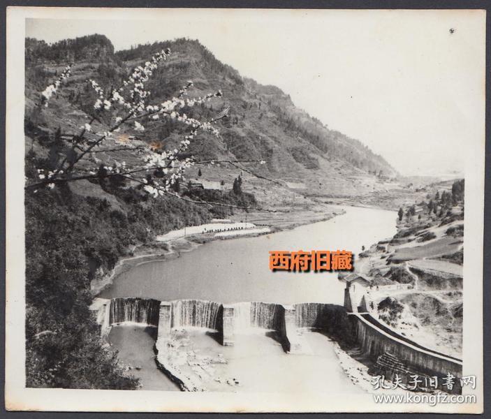 哪里的水坝,单幅风景照